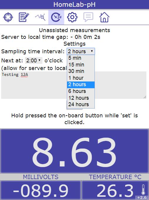 HomeLab-pH software for Raspberry Pi