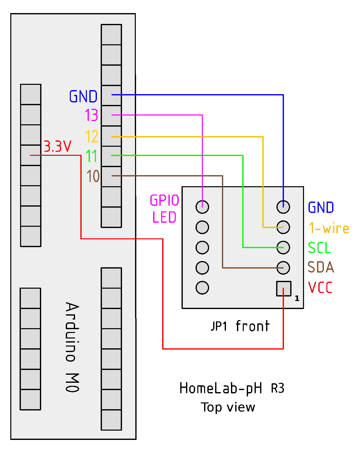 Homelab Ph Circuit Sensor For Arduino Sale Connect To M0 Diagram